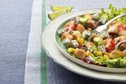 Manzo, pollo e verdure con Gorgonzola